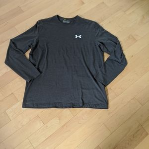 UNDER ARMOUR - Grey Long Sleeve Shirt